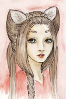 the fox lady by kiriyoru