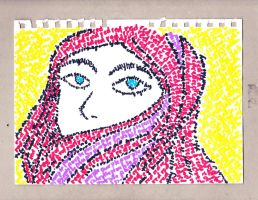 Hijab Lady by UnjustToMe