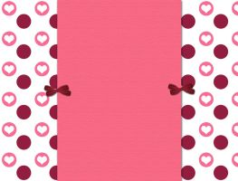 Pink Hearts blog background by snowsicle