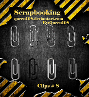 scrapbook Clips by queen198