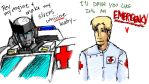 Ratchet and James EMERGENCY YO by straya