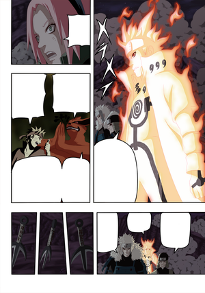 Naruto Chapter 631 by IKashos