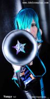 Mikuo with megaphone by Uchiha-Joey