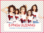 PACK 5 PNGs ULZZANG by mo0nsiilycutelazy