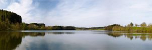 Pano Lac de Bret by ricchy