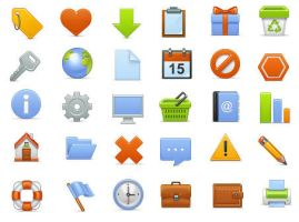Basic Icons Set by FreeIconsFinder