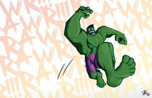 Hulk Smash by StephenEusebio
