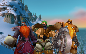 The Dwarves of Ironforge by MullinstheGreat