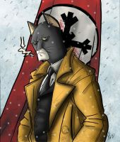 Blacksad fanart 2 by Jaehthebird