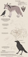 Crows Feet Ref Sheet by Mongrelistic