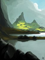 Fjordscape by AiretSyl