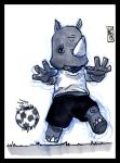 Sketch Card-A-Day 2013: 054 by lordmesa