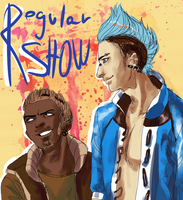 regular show- human by MICHELANGELO12
