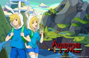 Adventure Time Anime Version by sasusaku-uchiha0718