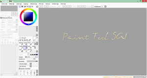 Paint Tool SAI by CANDIY14