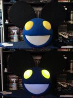 Black and Blue Mau5 by AngelCostumes