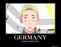 Stoned Germany by stripedrin-chan