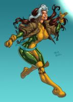 WIP - Rogue by Carlos Moreno colors by ginmau