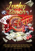 Lucky-seven -gamble-flyer- by Styleflyers