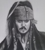 jack sparrow by DannyFinch