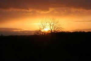 Sunset over mawsley_1 by Melee-pic