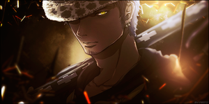 Trafalgar Law Signature by PiritoO