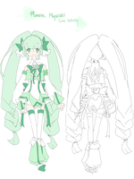 [Remember!Precure] Cure Infinity Ref by nondoka