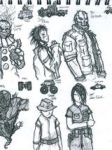 Twisted Metal Character Lineup by RonaldTheBad
