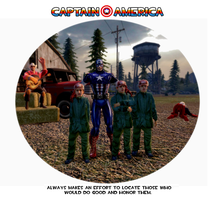 Captain America Ettiquette 3 by SpaceFishInSpace