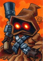 Jawa Sketch Card by Chad73