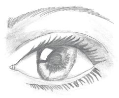 MY FIRST REALISTIC EYE by vienna2000