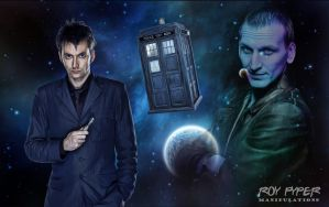Doctor Who: Future Tense: Anisotropic Filter Edit by nerdboy69