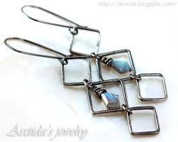 *Asteria* Labradorite earrings by Arctida