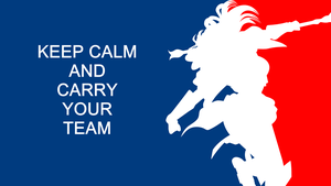 Lux - KEEP CALM AND CARRY YOUR TEAM by RatchetHuN