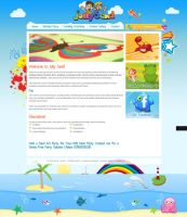 Jolly sand website design by TimothyGuo86