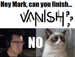Markiplier Grumpycat by itzteajay