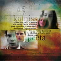 thg. katniss and peeta. by itstoodark