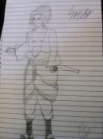 Sasuke Free-Handed by TheChabot