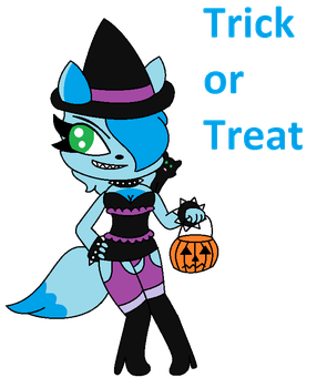 Frost Is Ready For Halloween Already by SuperLuigi1025