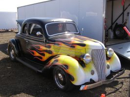 Flamed Ford by Jetster1