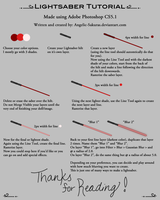 Tutorial: Lightsabers by Angelic-Sakuras