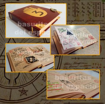 Gravity falls journal 3 by canela123