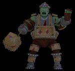 Hammer Troll 3D (Posed) by rittie145
