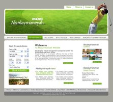 Al Solaymaneyah Golf website by karmooz