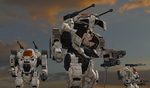 100% pose-able Desert Warfare Goliath by bstylez