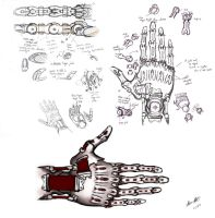 Prosthetic Hand Design by kujo