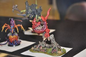 Night Goblin on Squig by Cpl-Highway