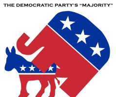 Democratic Party's Majority by larynx1982