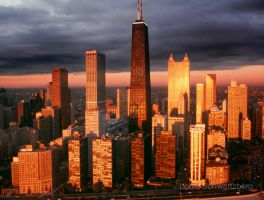 Chicago Magic by louieschwartzberg