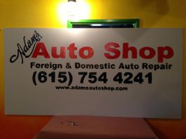 Shop Sign by PastorRoy